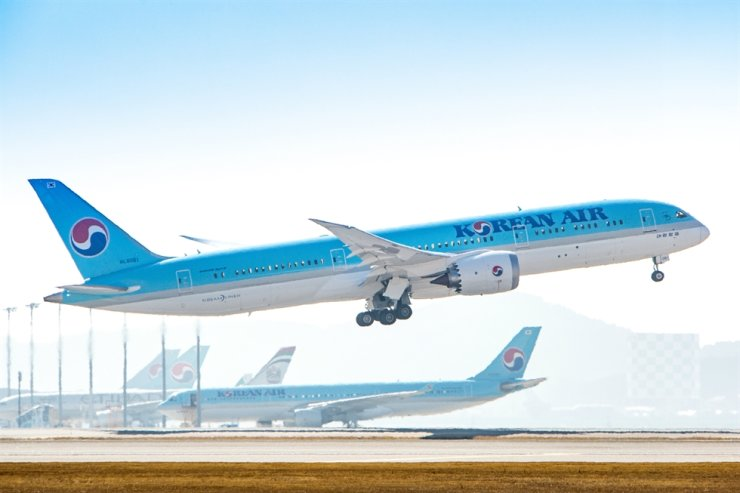 Korean Air Boeing 787-9 / Courtesy of Korean Air