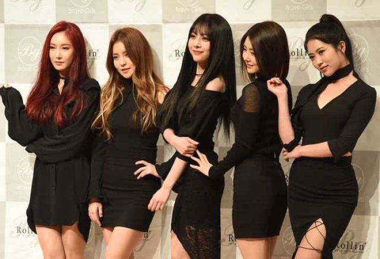 K-pop act Brave Girls / Korea Times file