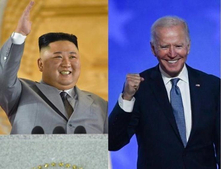 North Korean leader Kim Jong-un and U.S. President Joe Biden / Korea Times file
