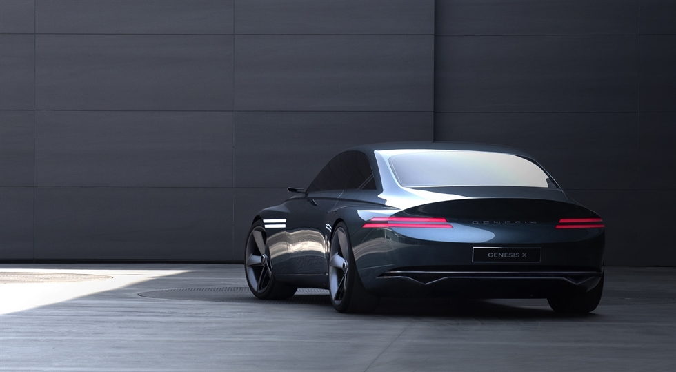 A premium electric concept car of Genesis / Courtesy of Genesis