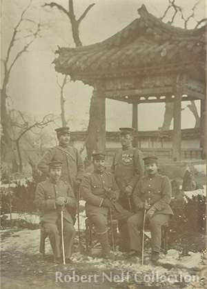 Jemulpo (modern Incheon) harbor in the late 19th or early 20th century.  Courtesy of Diane Nars Collection