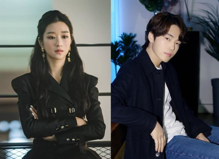 Actress Seo Yea-ji, right, and Kim Jung-hyun were reported to be dating in 2018. Courtesy of tvN and O& Entertainment