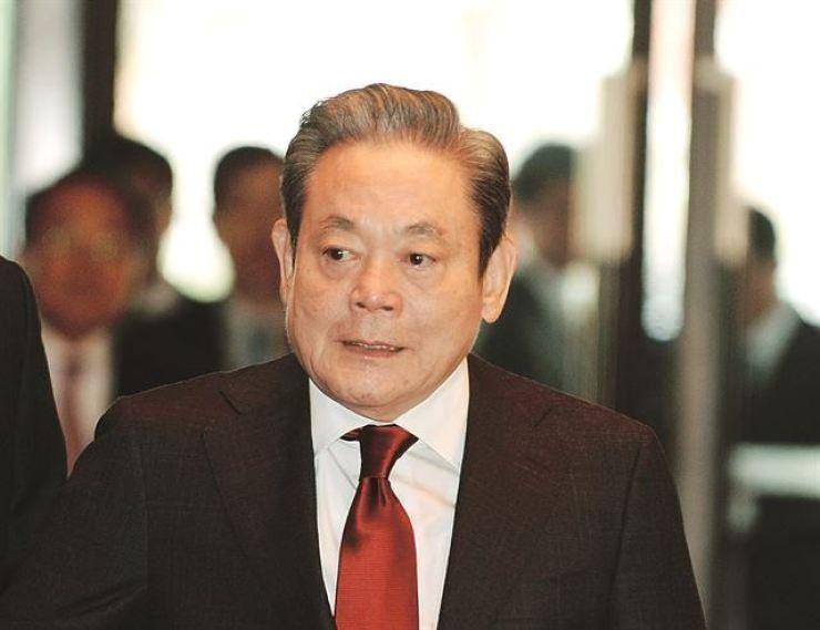 Lee Kun-hee, the late Samsung Group chairman / Korea Times file