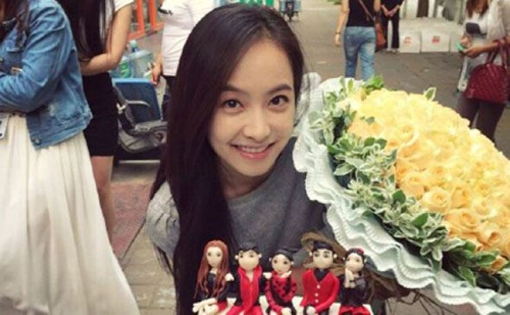 Victoria Song of K-pop girl group f(x) has decided not to renew her contract with the band's management company, SM Entertainment. Capture from Weibo