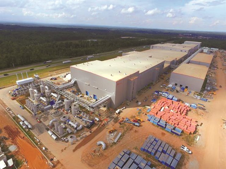 SK Innovation's battery plant site in Georgia / Courtesy of SK Innovation