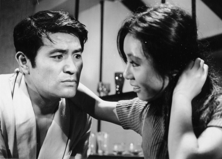 Youn Yuh-jung, right, performs in director Kim Ki-young's 1971 film, 'Woman of Fire,' in this file photo. The vintage movie will be screened again on the occasion of Youn's nomination for the Best Supporting Actress Award at this year's Oscars. Korea Times file