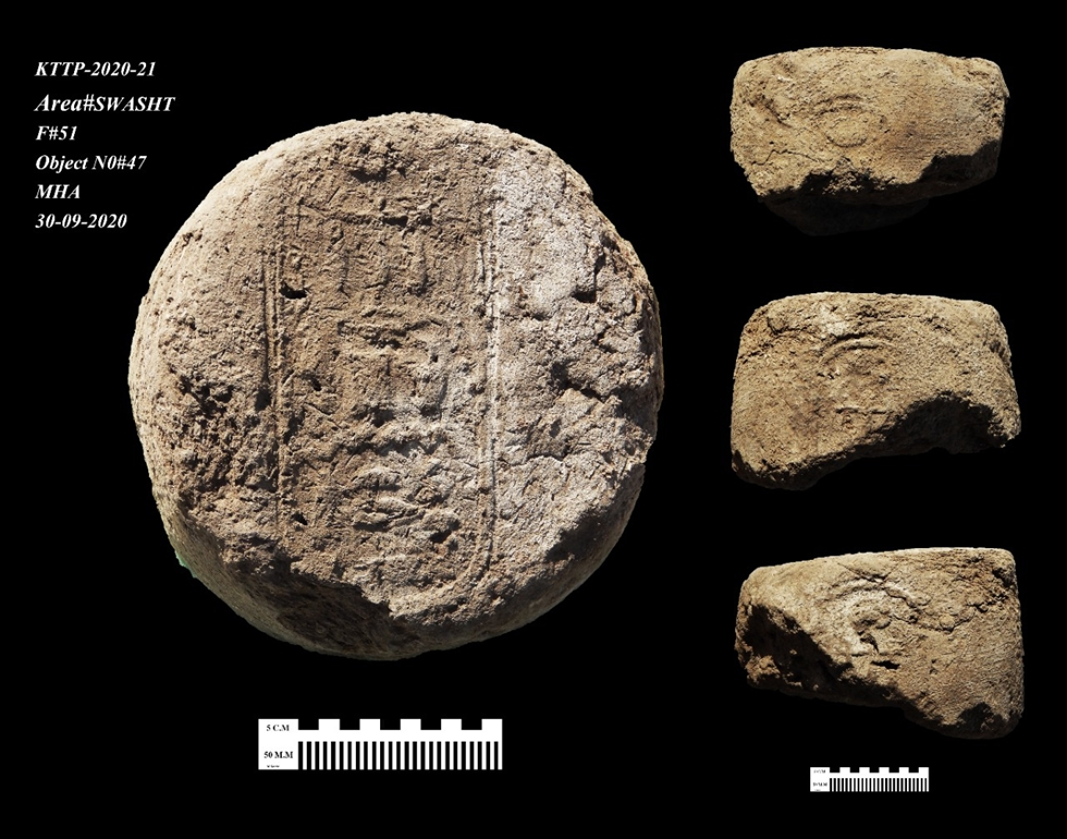 A handout picture released by the Egyptian Ministry of Antiquities on April 8 shows the remains of a 3000 year old city, dubbed The Rise of Aten, dating to the reign of Amenhotep III, uncovered by the Egyptian mission near Luxor. Archaeologists hailed the discovery of 'the largest' ancient city found in Egypt, which experts said was one of the most important finds since unearthing Tutankhamun's tomb. AFP