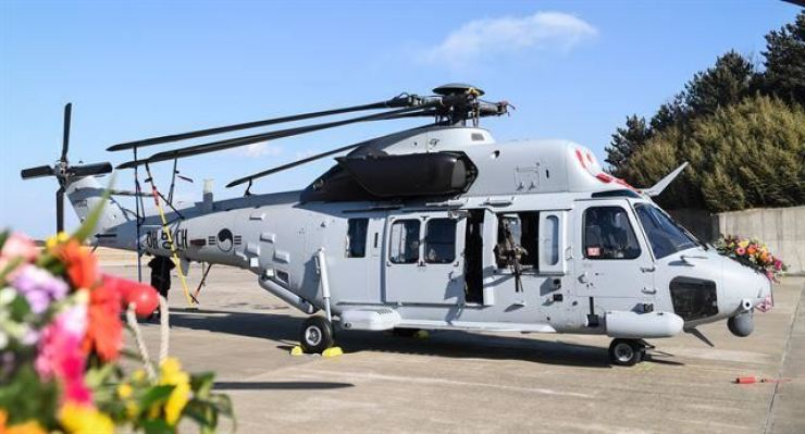 The MUH-1, or Marine Utility Helicopter, known as 'Marineon' / Courtesy of Headquarters ROK Marine Corps