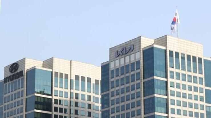 Hyundai Motor and Kia headquarters in Seoul / Korea Times file