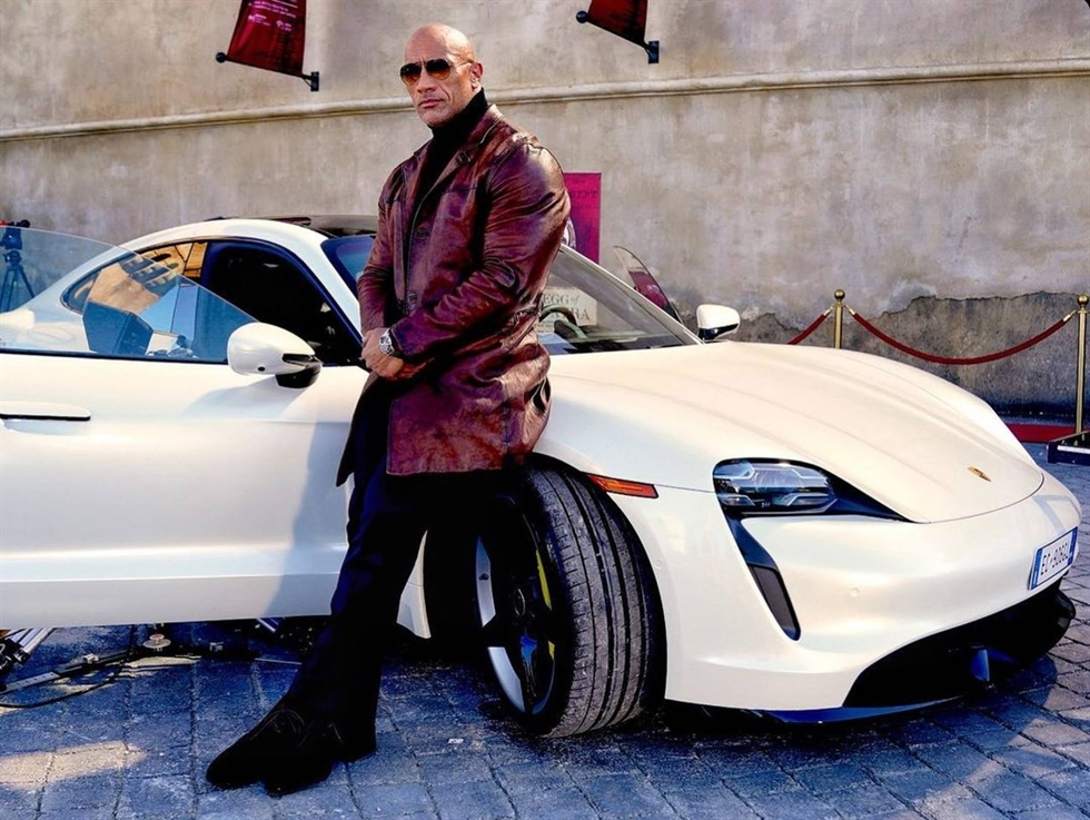 Dwayne Johnson in a scene from 'Ballers' on HBO / South China Morning Post