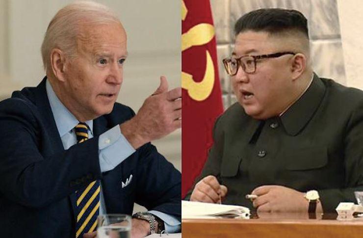 U.S. President Joe Biden, and North Korea leader Kim Jong-un / Korea Times file