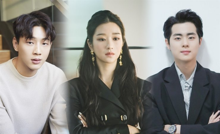 Actors Ji-soo, from left, Seo Yea-ji, and Cho Byeong-kyu lost upcoming projects or advertising deals after facing scandals. Courtesy of Keyeast Entertainment, tvN and HB Entertainment