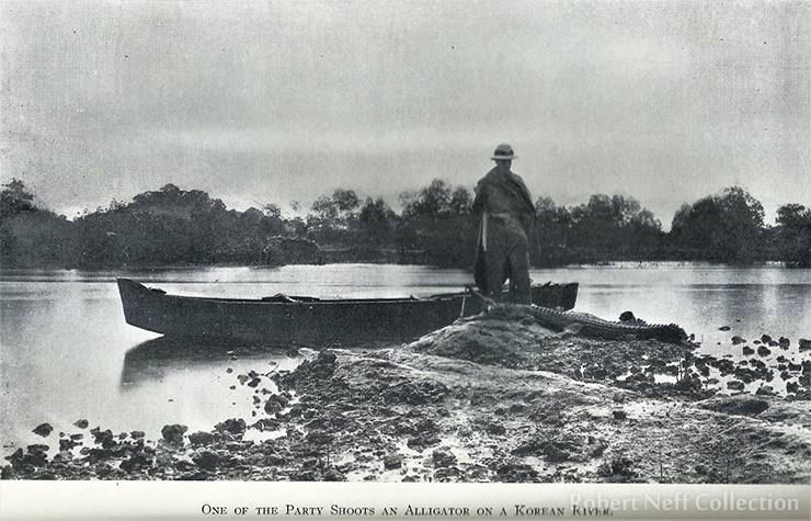 Jemulpo Harbor in the early 1900s / Robert Neff Collection
