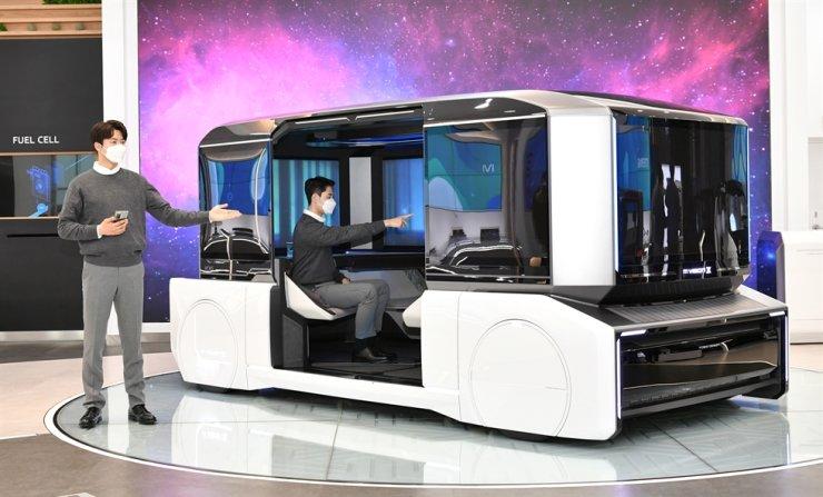 Hyundai Mobis' concept car, M.Vision X / Courtesy of Hyundai Mobis