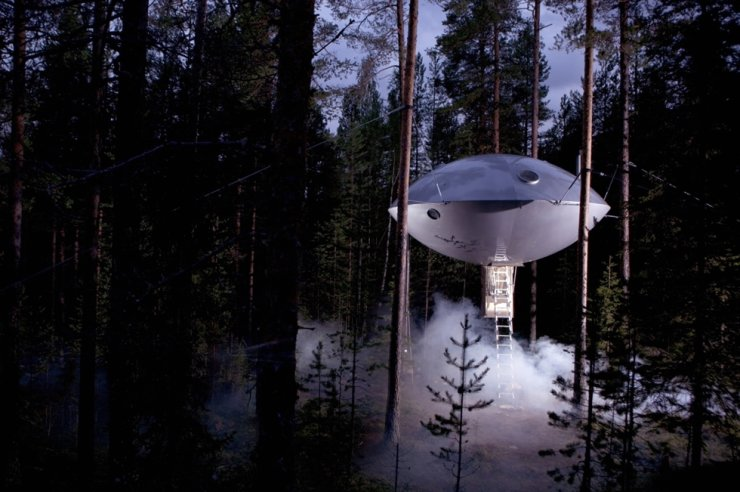 Treehotel in Harads, Sweden / Courtesy of Booking.com