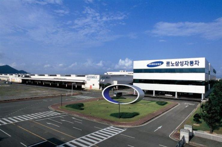 Renault Samsung's manufacturing plant in Busan / Courtesy of Renault Samsung