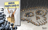 India fights COVID-19
