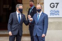 G7 foreign ministers meet face-to-face after pandemic pause