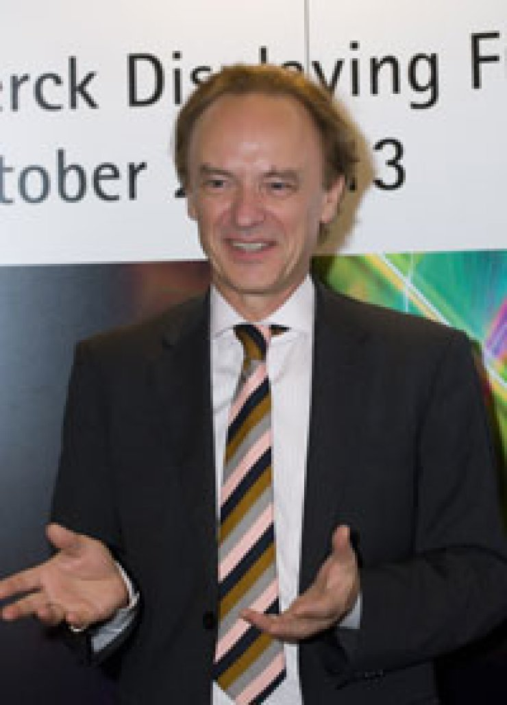 Roman Maisch, vice president of the performance materials division at Merck / Courtesy of Merck