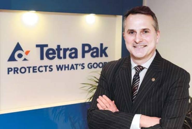 Chris Kenneally, president of Tetra Pak Korea / Courtesy of Tetra Pak Korea