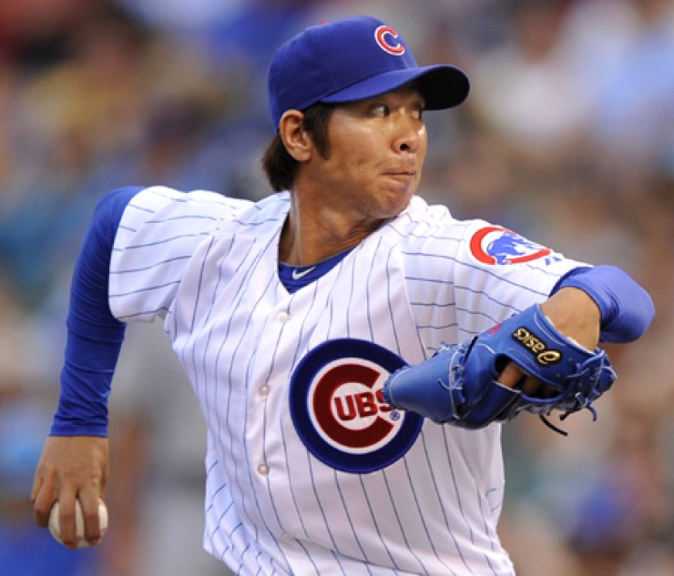 Chicago Cubs released pitcher Lim Chang-yong on Monday. Samsung Lions, Lim's former team in Korea Baseball Organization, said it is considering adding him. / AP-Yonhap