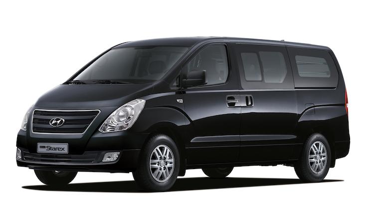 Aiib hyundai offers ioniq ev and grand starex minivan for Hyundai motors customer service