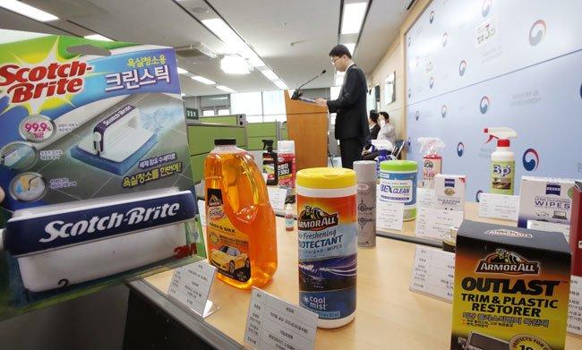 3M markets toxic materials in Korea