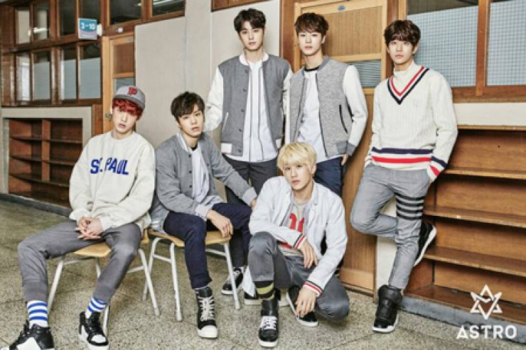 K-pop boy band ASTRO will hold its first showcase in Asia in October. /Courtesy of Fantagio Music