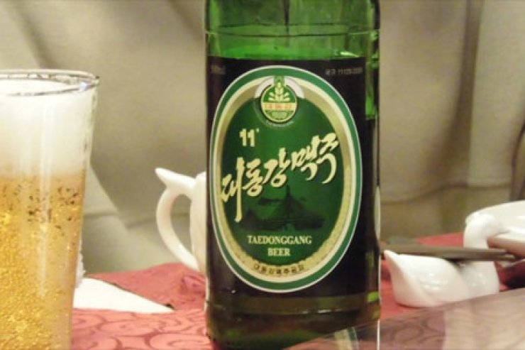 Taedonggang beer/Courtesy of Twitter