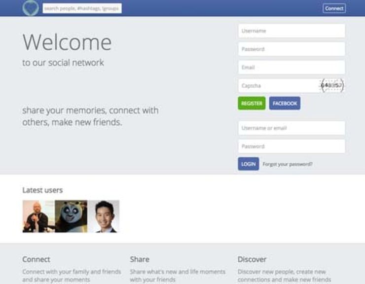 North Korea launches its own version of Facebook called 'Best Korea's Social Network' on Friday. /Courtesy of Twitter