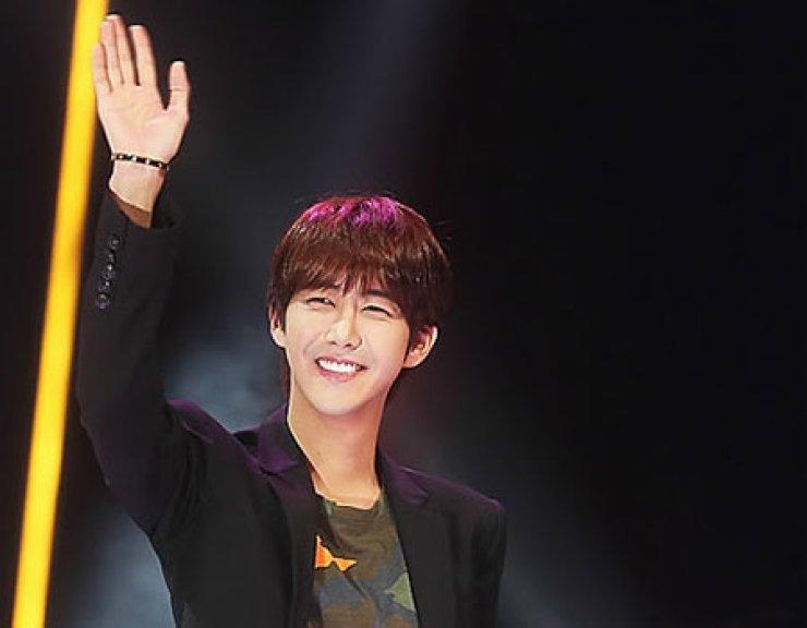 Hwang Kwang-hee of boy band ZE:A / Yonhap