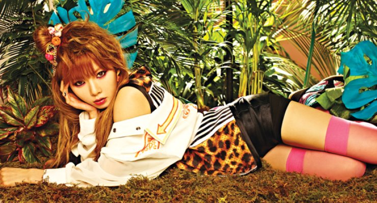 Singer HyunA has made a chart-topping comeback with her new song 'How's this?'/Courtesy of Cube Entertainment