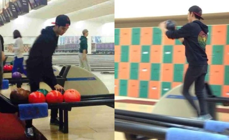 Hallyu star Kim Soo-hyun has this month applied to become a professional bowler. / Courtesy of Daum Blog