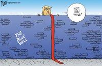 Trump built the wall