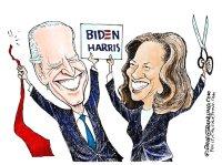 Biden and Harris 2020 winners