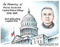 Capitol police officer tribute
