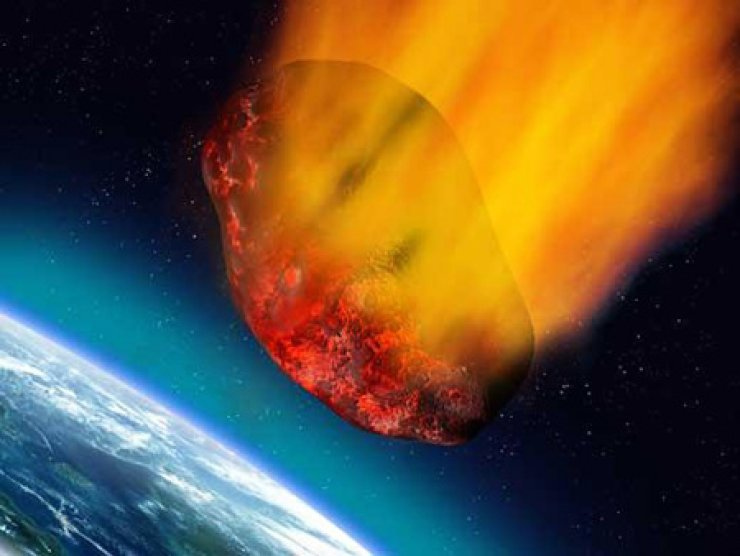 A giant asteroid is to hurtle past the Earth at  27,000 miles per hour.
