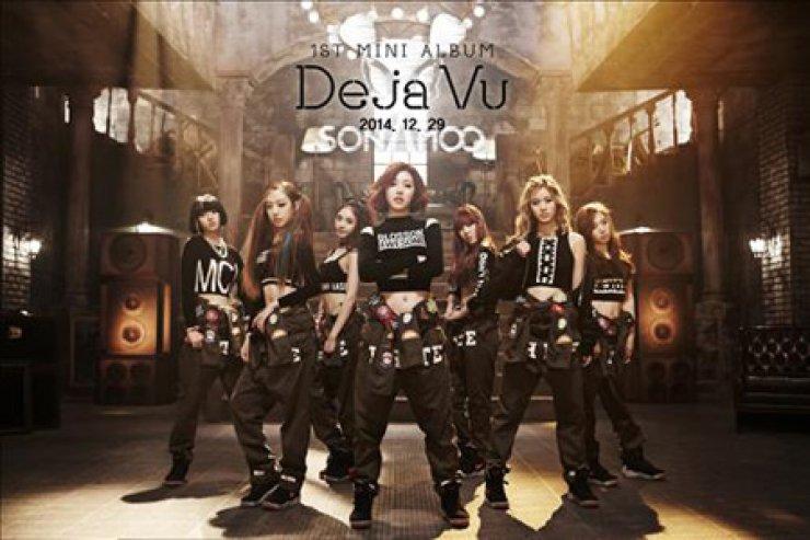 'Sonamoo' in their first album 'Deja Vu' / Yonhap