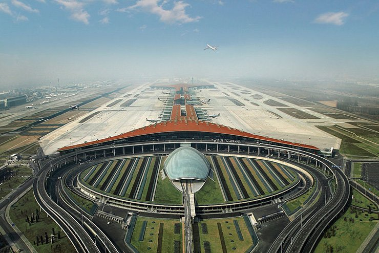 Beijing Capital International Airport / Courtesy of Wikipedia Commons