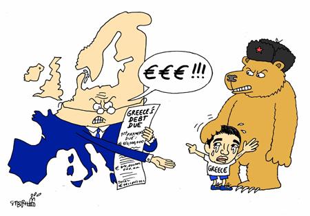 griechenland russland