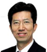 Oh Young-jin, The Korea Times publisherCho Jae-hyon, management planning director