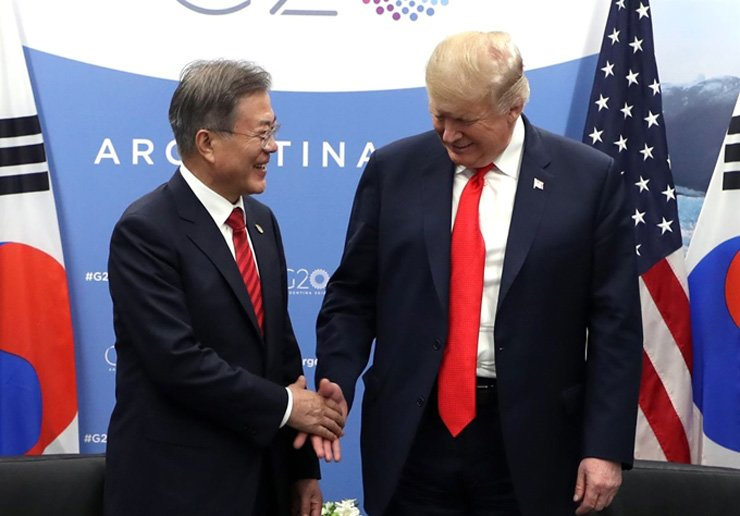South Korea and the United States have reached an agreement 'in principle' on sharing the cost of stationing American troops in South Korea. Yonhap