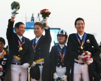S. Korea wins gold in team dressage equestrian at Asiad