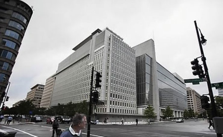 The World Bank headquarters in Washington, D.C., is shown in this file photo. Multilateral development banks, led by the world's developed countries, still have problems to tackle despite the progress they have made in tackling global poverty. / Yonhap