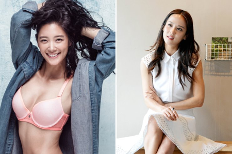 Clara Lee, left, and Cho Yeo-jung / Korea Times file