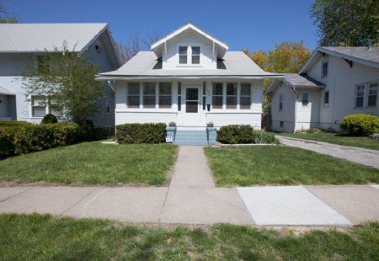 Warren Buffet's childhood home in Omaha, Nebraska. /AP-Yonhap