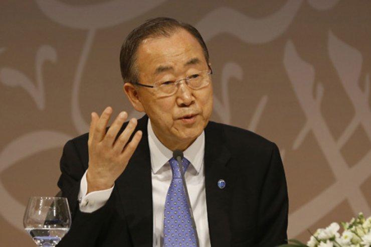 Ban Ki-moon / Yonhap