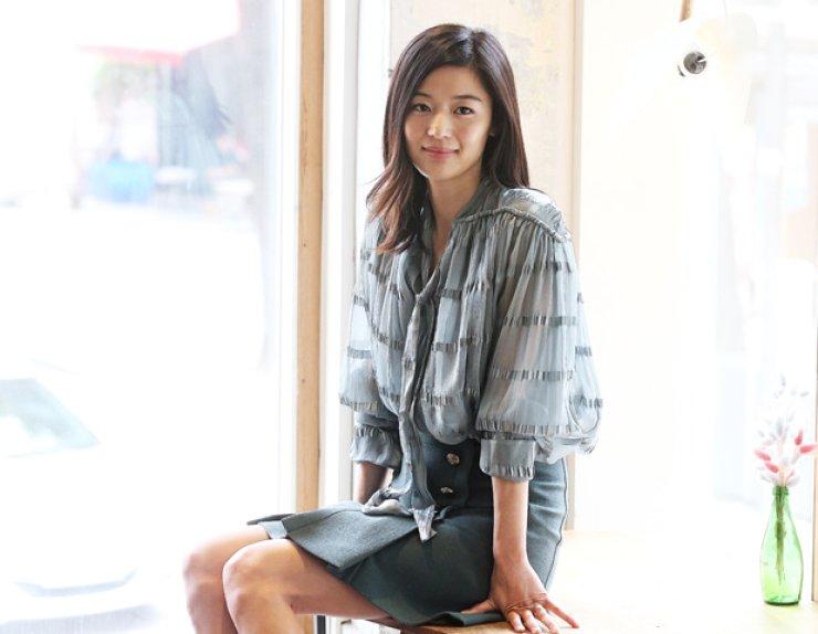 Actress Jun Ji-hyun