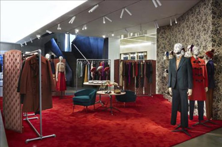 Gucci's pop-up store / Yonhap