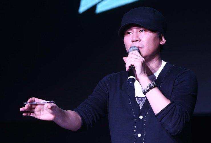 Yang Hyun-suk, head of YG Entertainment / Korea Times file